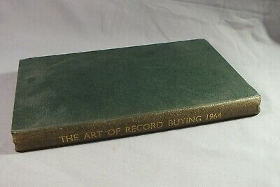 THE ART OF RECORD BUYING 1964 - List Of Microgroove Recordings • 14.95£