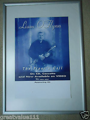 Liam O`flynn Concert Gig Poster 1999 Unreleased Printers The Pipers Call Poster • 15£