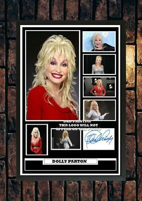 (#363) Dolly Parton Signed A4 Photo//framed (reprint) Great Gift @@@@@@@@@@@@@@@ • 5.99£