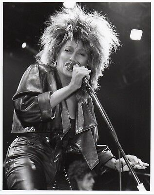 Tina Turner Photo 1985 Close Up Unique Unreleased Image Huge 12 Inch London Gem • 8.95£