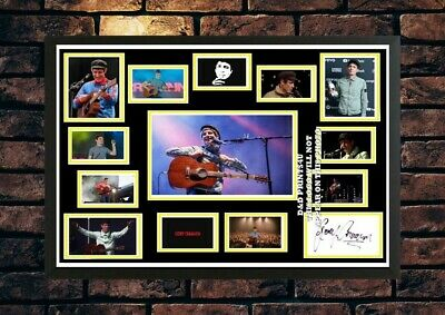 (#409) Gerry Cinnamon Signed A4 Photo//framed (reprint) Great Gift @@@@@@@@@@@@@ • 14.99£