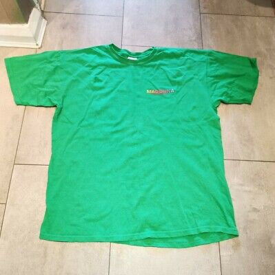 Vintage Madonna Sticky And Sweet Tour Local Crew Concert T Shirt Men Size XL '09 • 45£