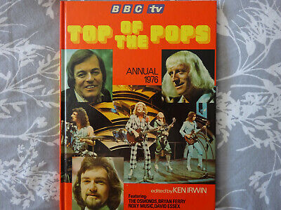 Top Of The Pops Vintage Annual 1976 Osmonds Slade Roxy Music Queen Elton John • 7£