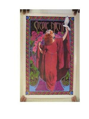 Stevie Nicks Poster Bob Masse Artist Fleetwood Mac • 44.42£