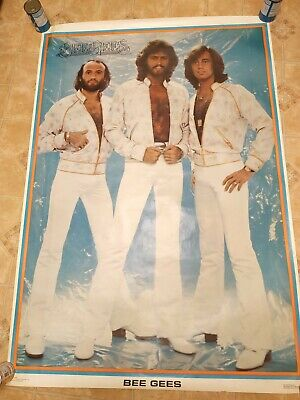 Huge Full Size 1979 One Stop Poster -  BEE GEES - Awesome 40x58  • 39.99£