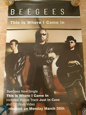 2001 This Is Where I Came In  Poster -  BEE GEES -  • 12.99£