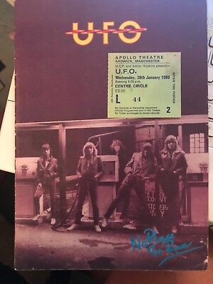 UFO No Place To Run Tour Programme. And Ticket 1980 • 17.99£