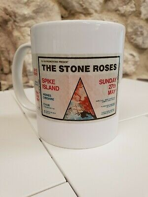 Stone Roses Spike Island Concert Cup / Mug Madchester Ian Brown John Squire • 9.99£