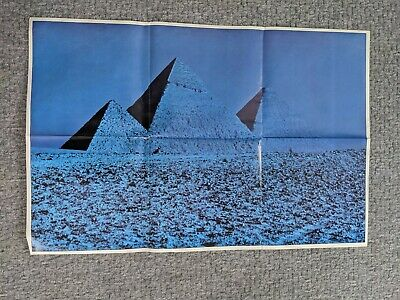 PINK FLOYD DARKER SIDE OF THE MOON Poster ONLY BLUE . • 15£