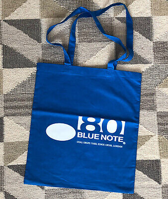 RARE Blue Note 80 Jazz Records Tote Bag - London Pop-up Shop • 7.95£
