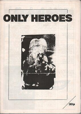 ONLY HEROES O.H.1 FANZINE UK 1982 Black And White New Wave Fanzine Featuring • 26.24£