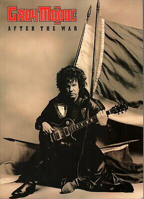 GARY MOORE After The War TOUR PROGRAMME Large World Tour 89 Programme () • 15.74£