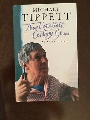Michael Tippett.  SIGNED. Autobiography • 15£