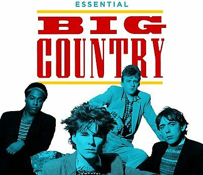 BIG COUNTRY ESSENTIAL BIG COUNTRY 3 CD (New Release July 10th 2020) - IN STOCK • 5.45£