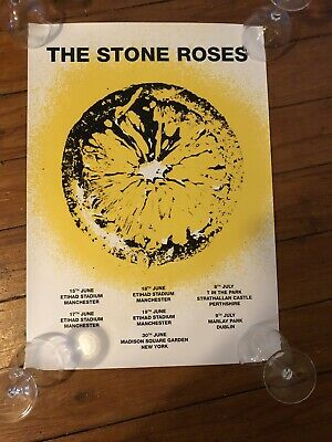 The Stone Roses - Rare Tour/Gig /Concert Poster, 2016! • 49.99£