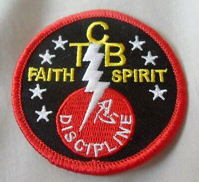 Elvis Presley Taking Care Of Business Embroidered Patch.TCB, Gracelands • 4.99£
