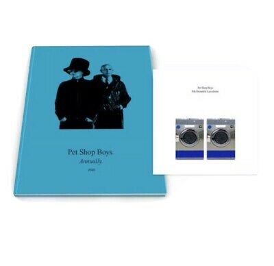 PET SHOP BOYS - ANNUALLY 2020 Book & CD. NEW / SEALED. • 29.50£