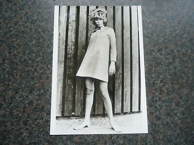 Unknown Female Singer From 1960s Photo Prob 1967/8 5  X 7  Nice Condition • 9.99£