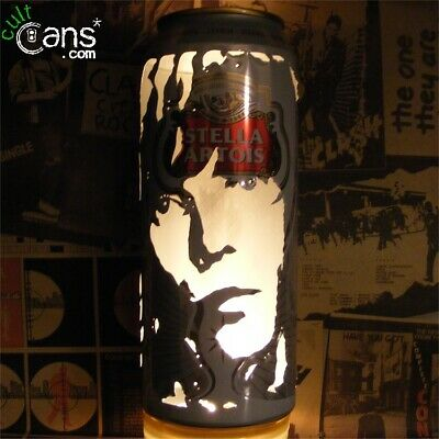 Ian Brown Beer Can Lantern! The Stone Roses Pop Art Portrait Lamp, Unique Gift • 13.99£