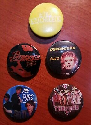 5 Original Psychedelic Furs 25mm Badge Lot Punk • 9.95£