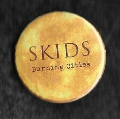 The Skids Burning Cities Into The Valley 1x 32mm Badge Button Recycled Pictures • 1.25£