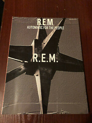 RARE REM - Automatic For The People Songbook  • 25£