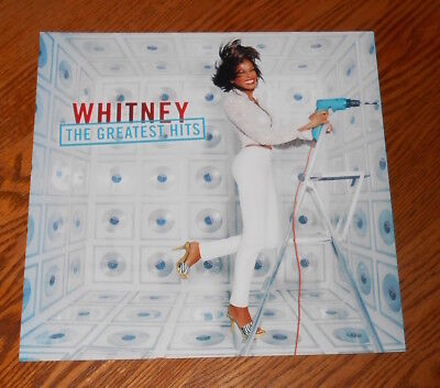 Whitney Houston The Greatest Hits Poster 2-Sided Flat Square 2000 Promo 12x12 • 19.81£