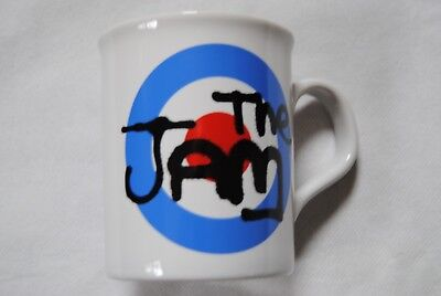 The Jam Target Logo Mug Cup Tea Coffee New Official All Mod Cons In The City • 8.99£