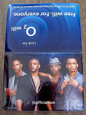 Jls Outta This World Uk Arena Tour 2010 Plastic Oyster/credit Card Holder  • 2.50£