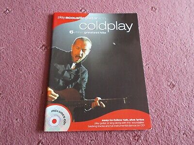 Coldplay-Play Acoustic Guitar With Coldplay Song Book • 4.99£
