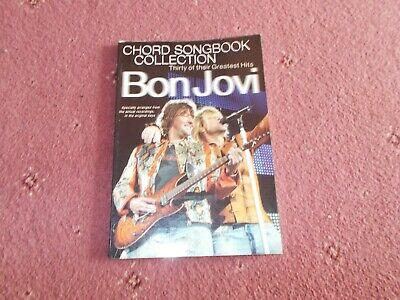 Bon Jovi Chord Song Book  Thirty Of Their Greatest Hits • 4.99£