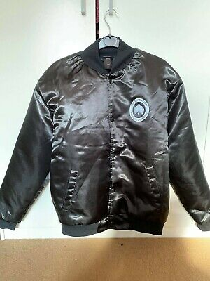 The Formation World Tour Beyonce Black Bomber Jacket Size S • 150£
