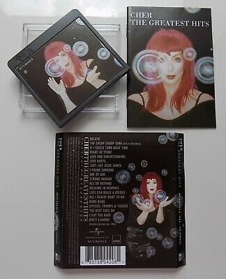 Cher Greatest Hits Mini Disc 1999 - Disc Front & Rear Cover Only - New • 12.99£