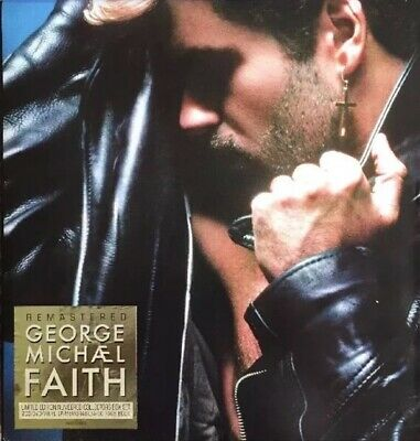 George Michael Faith Limited Edition Numbered Collectors Box Set CD/Vinyl/DVD • 80£