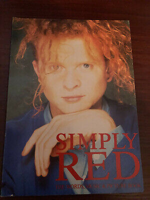 Simply Red - The Words, Music And Picture Song Book • 12£