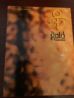 Prince - The Gold Experience Song Book • 50£