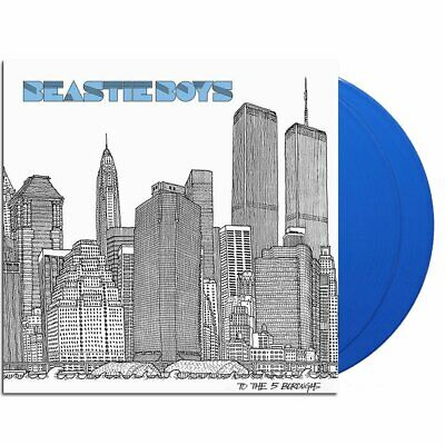 Beastie Boys To The 5 Boroughs Blue Colour Vinyl LP Limited Sealed Exclusive • 50£