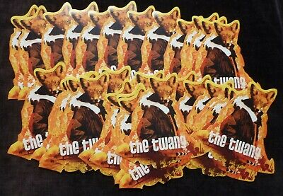 THE TWANG Like It When I Feel Like This SHAPED PROMOTIONAL STICKERS X 20+ • 11.99£