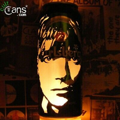 Damon Albarn Beer Can Lantern! Blur, Gorillaz, Pop Art Portrait Candle Lamp • 13.99£