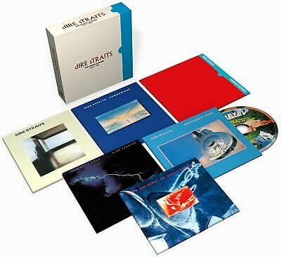 Dire Straits The Studio Albums 1978-1991 6 Cd Box Set (9/10/20) In Stock • 16.95£