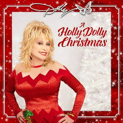 DOLLY PARTON A HOLLY DOLLY CHRISTMAS CD (Released 02/10/2020) - IN STOCK • 10.55£