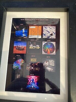 Muse Souvenir Framed Album Covers • 8£