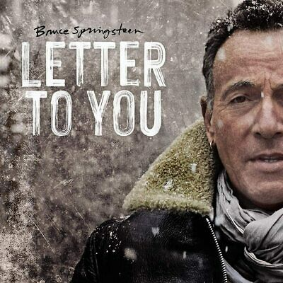 BRUCE SPRINGSTEEN LETTER TO YOU CD (New Release October 23rd 2020) - IN STOCK • 12.90£