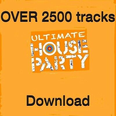Ultimate House Music DJ Friendly Download 2500+ Tracks • 10£