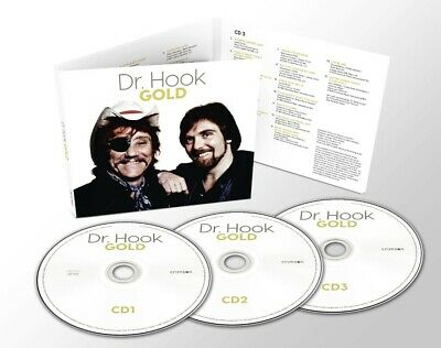 DR HOOK GOLD 3 CD SET (44 TRACK COLLECTION) (Released 20/11/2020) IN STOCK • 5.99£