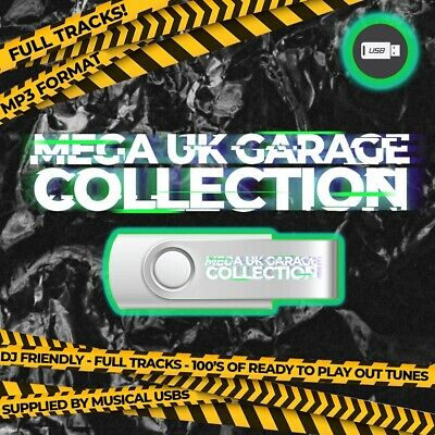 UK Garage Collection USB 1000 Tracks DJ Friendly / RXDJ / Controller  • 15£