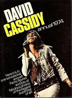David Cassidy Annual 1974 Book Christmas Fast FREE Postage Excellent Condition  • 12.99£