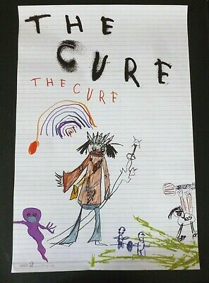 THE CURE The Cure    PROMOTIONAL MUSIC POSTER Vintage • 29.99£