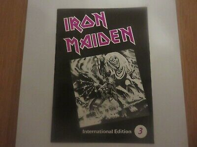 Iron Maiden Official Fan Club Magazine - Issue 3 • 10£