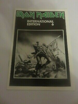 Iron Maiden Official Fan Club Magazine - Issue 6 • 10£